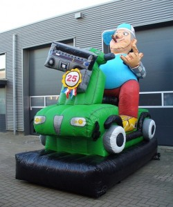 Abraham super scoot 25 jaar