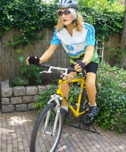 Sarah mountainbiker